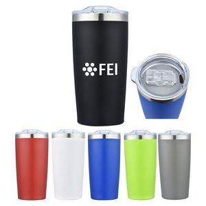 20 Oz. Stainless Steel Custom Double Wall Vacuum Tumbler